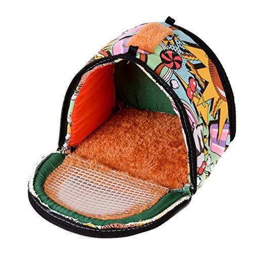 Balacoo Hamster tragtasche Tier ausgangstasche kleine haustiertasche tragbare Reisetasche Rucksack für Igel Hamster Maus Ratte