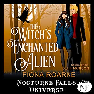 The Witch's Enchanted Alien: A Nocturne Falls Universe Story Titelbild