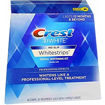 crest 3d whitestrips luxe