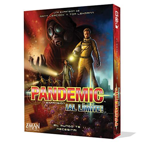 Z-man Games España Pandemic ¡al límite! ZM7111ES Juego de Mesa, Multicolor