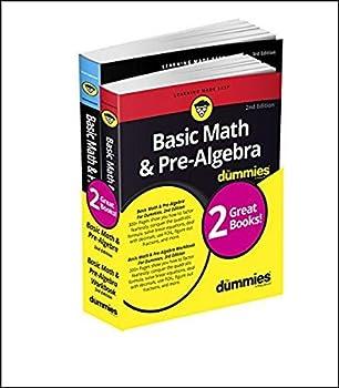 Basic Math & Pre-Algebra For Dummies Book + Workbook Bundle  For Dummies Math & Science