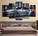 DPFRY Leinwandbild Modulare Bilder Wohnzimmer Wandkunst