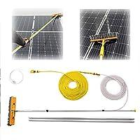 WLABCD 窓拭き、太陽光発電およびソーラーパネルの清掃、車、キャラバン、トラック、キャンピングカーおよびバス、ウォーターブラシ,7.5M / 24.6Ft