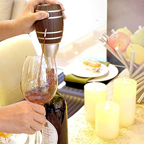 LYMHGHJ Dispenser per Vino, Decanter per Vino One Touch per Bottiglia, versatore per aeratore per Vino Elettrico Intelligente, per Matrimonio/Compleanno/Festa/Natale