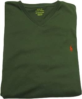 Mens' Big and Tall T-Shirt Jersey V-Neck T-Shirt