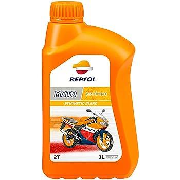 Aceite Lubricante 100% sintetico Motul 710 2T - 1 Litro: Amazon.es ...