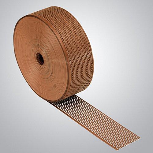 Schutzgitter-Profirolle, Kunststoff, Rollenlänge: 60m, Rollenbreite: 80mm, Farbe: Schwarz