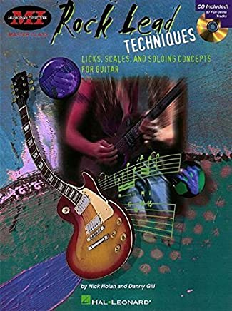 Rock Lead Techniques: Techniques, Scales and Fundamentals for Guitar (Musicians Institute) by Unknown(1998-03-01)