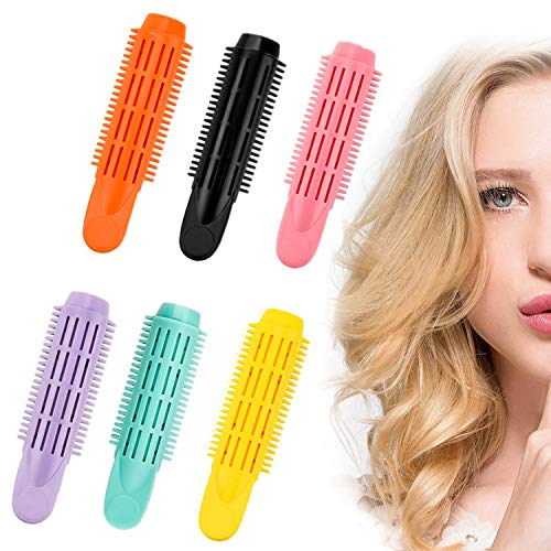 Hair Rollers Hair Root Clips Volumizing Hair Clip Self Grip Root Volume Magic Hair Curlers Wave Hair Curl Clip Natural Fluffy Curly Hair Clamps Rollers No Heat DIY Hair Styling Clips