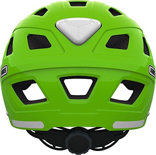 Abus Erwachsene Fahrradhelm Hyban, Green, 52-58 cm - 5