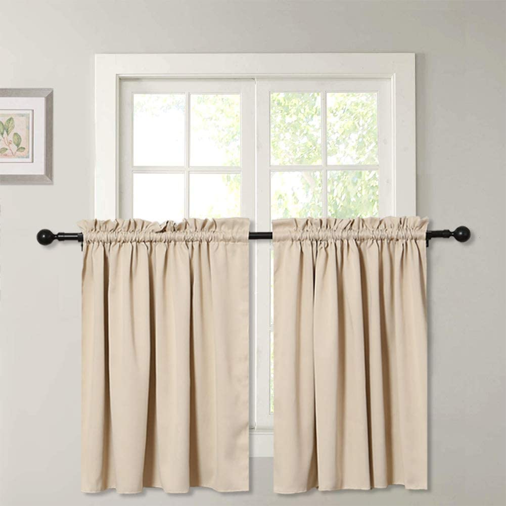 SquarePie Curtain Tiers Limited time cheap sale Thermal Blackout Insulated New Shipping Free Treatm Window