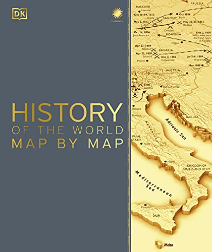 History of the World Map by Map Book