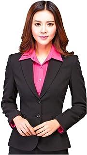 KARF Women's Regular Fit Single Breasted Blazer