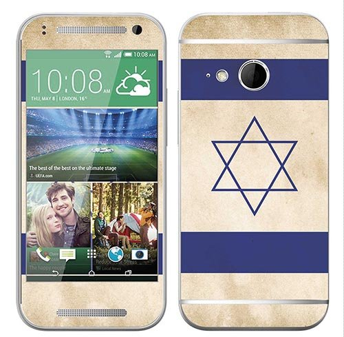 Royal Sticker RS.122755 Sticker voor HTC One Mini 2 met vlag Israel