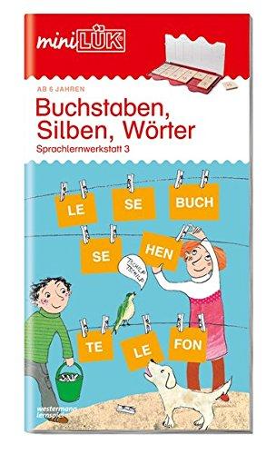 miniLÜK-Übungshefte: miniLÜK: Vorschule/1. Klasse - Deutsch: Buchstaben, Silben, Wörter