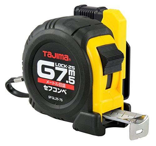 タジマ(Tajima) コンベックス 7.5m×25mm セフコンベGロック25 SFGL2575BL