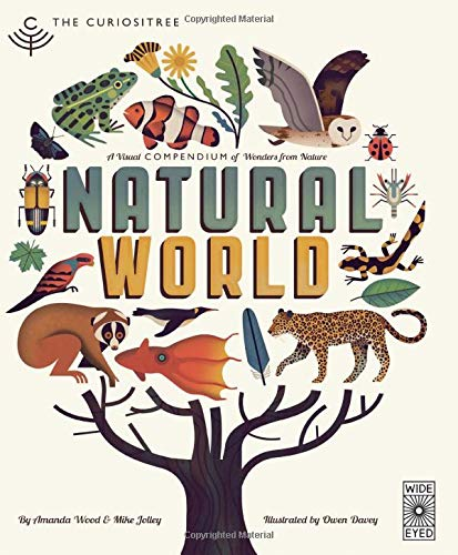 Compare Textbook Prices for Curiositree: Natural World: A Visual Compendium of Wonders from Nature - Jacket unfolds into a huge wall poster Illustrated Edition ISBN 9781847807823 by Wood, AJ,Jolley, Mike,Davey, Owen