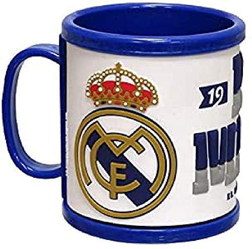 Real Madrid Tasse Rubber (MG-15-RM), non appliquée