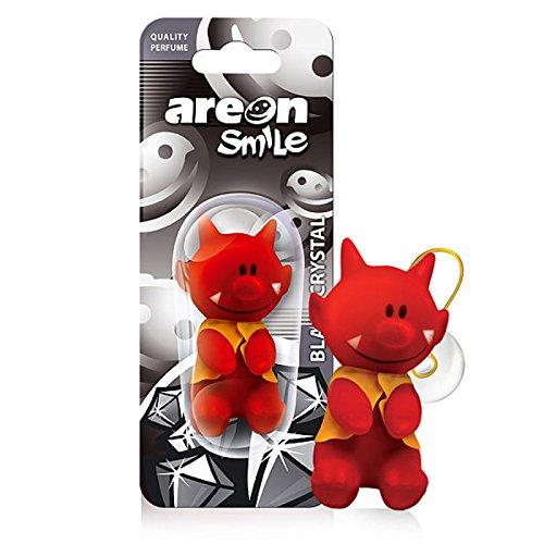 Areon Smile Ambientador Aire Coche Gracioso 3D Red