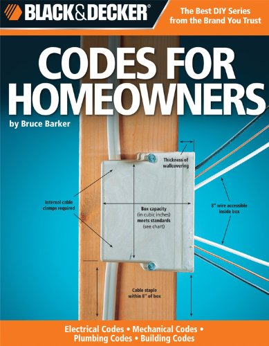 Codes for Homeowners: Your Photo Guide to: Electrical Codes, Plumbing Codes, Building Codes, Mechanical Codes (Black & D