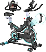 pooboo Magnetic Indoor Cycling Bike, Belt Drive Indoor Exercise Bike,Stationary Bike LCD Display for Home Cardio Workout Bike Training