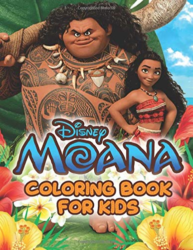 Moana Coloring Book For Kids