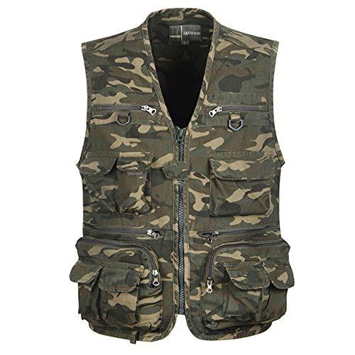 ydsh mens outdoor vest multi