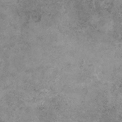 Bodenfliese Semilla Graphit | Betonoptik | anpoliert • glasiert | Fliese Graphit | Feinsteinzeug (Musterfliese)