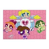 パワーパフガールズ The Powerpuff Girls ジグソーパズル キャラクター パズル アニメパターン 萌えグッズ 子供 初心者向け ギフト (98 Pcs)