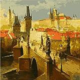 Wfmhra Landschaft Bild Öl auf Leinwand Poster