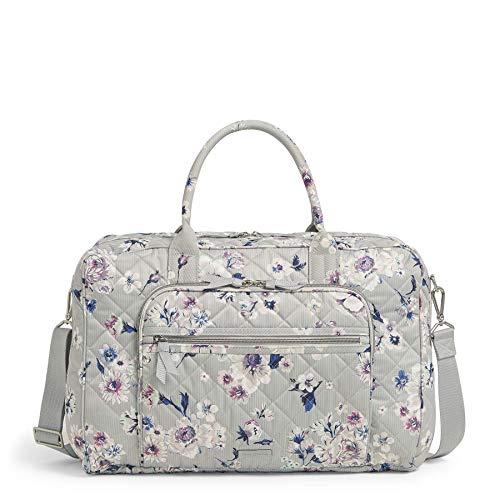 Vera Bradley Women's Iconic Performance Twill Lay Flat Weekender Travel Bag, Park Stripe, One Size