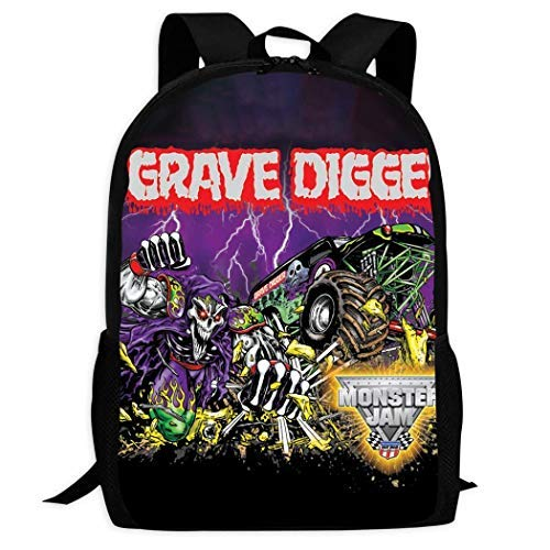 AOOEDM Backpack Unisex Casual Digger_Grave School Bag for Child Daypacks Rucksack Backpack Zipper