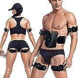 KADDGN ABS Formateur Muscle Stimulator, AB Ceinture Tonus avec Rechargeable USB, Fitness Gym Machine d'entraînement pour Les Hommes et Les Femmes