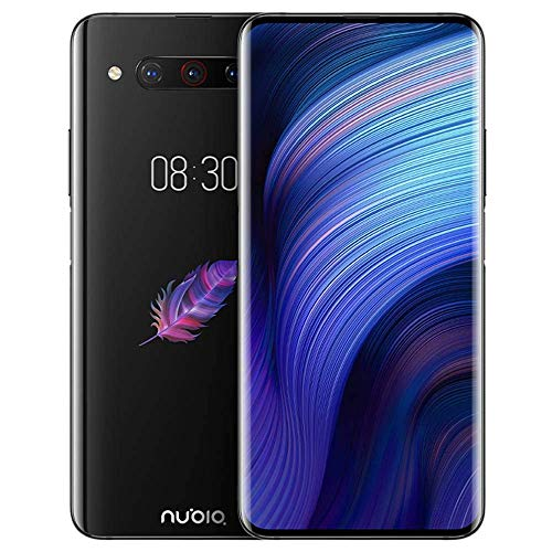 "ZTE Nubia Z20 Dual-Screen 6.42"" 128GB 8GB RAM (GSM Only, No CDMA) Factory Unlocked No Warranty - International Version (Black)"