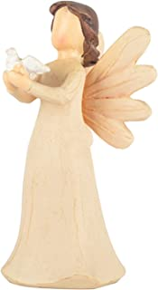 Angel of Healing,Sculpted Hand-Painted Figure with a Peace Dove Guardian Angel Statue Bring Faith Hope for Your Family,Fri...