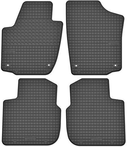 Motohobby Gummimatten Gummi Fußmatten Satz für Skoda Rapid/Seat Toledo IV (2012-2018)