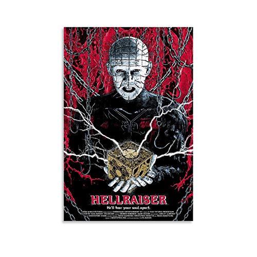FINDEMO Nightbreed Clive Barker Hellraiser Horror Poster dekorative Malerei Leinwand Wandkunst Wohnzimmer Poster Schlafzimmer Malerei 24x36inch(60x90cm)