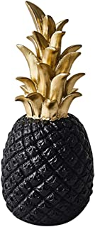 YARNOW Pineapple Figurines Resin Pineapple Statue Artificial Fruit Figurines Ornament For Wedding Centerpiece Home Office ...
