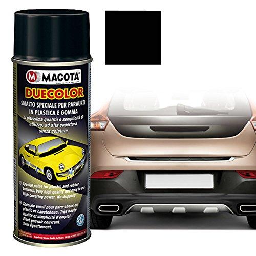 Macota Peinture universelle multiusage noire pour pare-chocs et plastiques extérieurs pour Uno Turbo Punto Clio