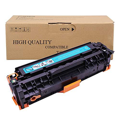 SHZJZCompatible con HP CB540A CB541A CB542A Cartucho De Tóner para Laserjet Cartucho HP Color CP1213 / CP1214 / CP1215 / CP1513 / CP1514N / CP1517NI / Cp1518ni / Cm1312nfi Impresora,Azul