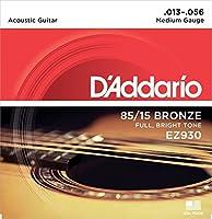 D'Addario ダダリオ 85/15 EZ-930 AMERICAN BRONZE EZ Medium (13-56) EZ930 アコースティックギター弦 【国内正規品】