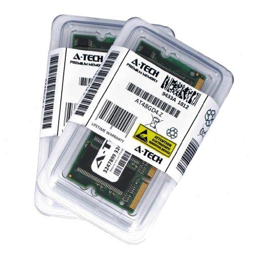 A-Tech 2GB Kit (1GB x 2) DDR PC2700 Laptop Memory Ram Module 200-pin SODIMM, 333MHz 2700 Genuine Brand