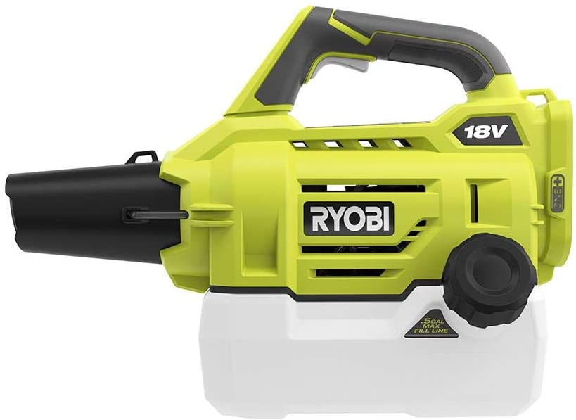 New sales .RYOBI ONE.+18-Volt Lithium-Ion Cordless Fogger Mister Lightwei A surprise price is realized