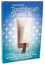 Intellident Antimicrobial Toothbrush Shields 10ct Pack of 3