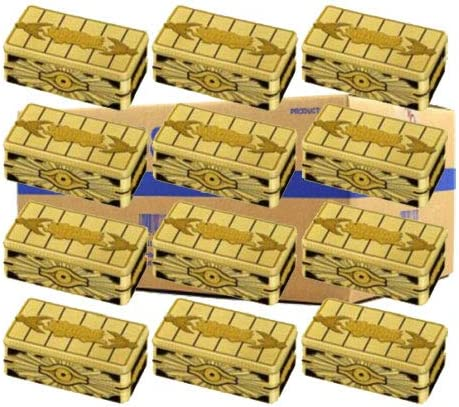Yugioh 2019 完売 Gold Sarcophagus Mega Tin B 36 Case of Tins ☆送料無料☆ 当日発送可能 12