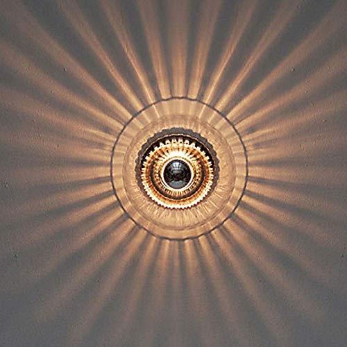 DC Wesley Night Lámpara De Pared Empotrada Contemporánea Moderna De Vidrio LED Lámpara De Pared para Interiores