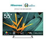 Hisense H55BE7400 Smart TV LED Ultra HD 4K 55', Dolby Vision HDR, Wide Colour...