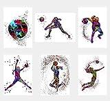 Wall Art Decor Poster/Poster, Motiv Basketball, Baseball,