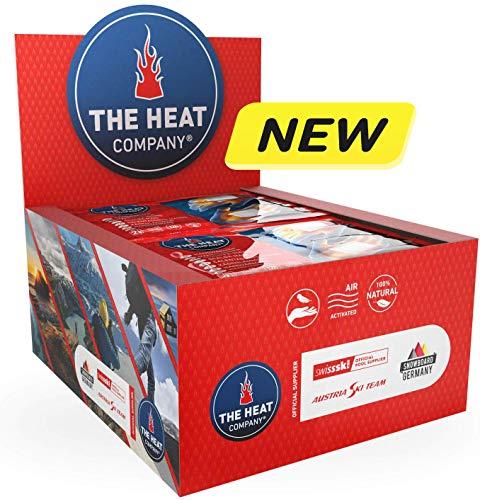 The Heat Company handwarmer – nieuwe receptuur – officiële uitrusting: Austria Ski Team, snowboard Germany en Swiss Ski – extra warm voor 12 uur. Warme handen – luchtgeactiveerde warmtepads.