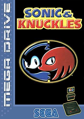 ELITEPRINT Póster de Sonic and KNUCKLES SEGA MEGA DRIVE Classic Retro A3...